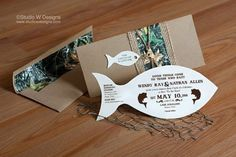 Fishing Themed Wedding Invitations as for your Wedding Invitation to get more beautiful look