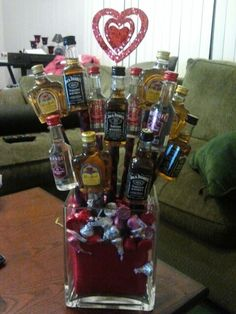 92 Best Liquor Bouquets Images Wine Baskets Gift Ideas Gift