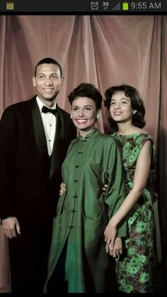Lena Horne and kids