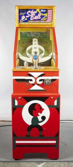 5 ¢ Chicago Coin Midget Skee Ball Arcade Game