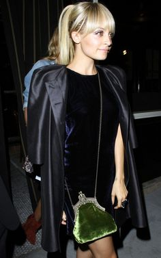 Nicole Richie, House of Harlow Rey Bag