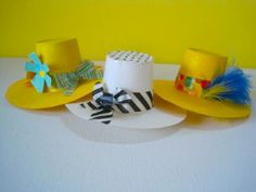 Recycle your K-Cups by creating these easy-to-make sweet spring hats! K Cup Crafts, Easter Crafts, Crafts To Make, Crafts For Kids, Arts And Crafts, Diy Crafts, Spring Hats, Summer Hats, Crafts For Seniors