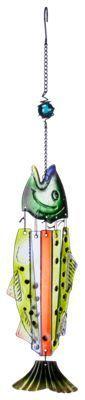 Red Carpet Studios Glass Fish Chime