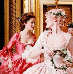 """Marie Antoinette — """"I hope there are some handsome generals. Marie Antoinette Movie, Best Costume Design, 18th Century Costume, Rose Byrne, Sofia Coppola, Disney Images, Kirsten Dunst, Movie Costumes, First Girl"""