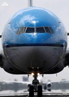 "KLM Asia Boeing 777-206/ER PH-BQF ""Ferrara City"" on the taxiway. (Photo: Sebastian Hinca / KLM)"