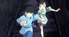 Tagged with disney, studio ghibli; Studio Ghibli Films, Art Studio Ghibli, Hayao Miyazaki, Spirited Away Wallpaper, Spirited Away Haku, Chihiro Y Haku, Cartoon N, Castle In The Sky, Howls Moving Castle