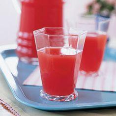 Basil-Infused Watermelon Lemonade | MyRecipes.com