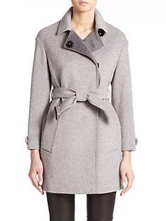 Burberry London - Hawkwell Wool/Cashmere Short Coat
