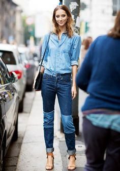 4th of July outfit idea: denim (more today on chicityfashion.com)