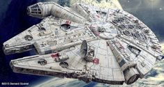 This Breathtaking Model Of The Millennium Falcon Took Four Years To Make