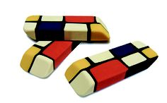 MONDRIAN ERASERS! How cool is that?!!!