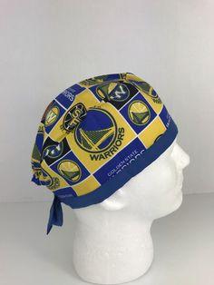 Warriors Skull Cap – Oksana's Creations Communication Is Key, Surgical Caps, Scrub Hats, Drip Dry, Scrubs, Warriors, Classic Style, Skull, Work Wear