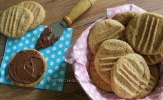 Galletas de crema de cacahuete, ¡con 3 ingredientes!  http://www.entrechiquitines.com/recetas/galletas-de-crema-de-cacahuete-con-3-ingredientes/
