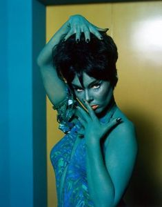 "Yvonne Craig as ""Marta"" in Star Trek - Whom Gods Destroy Yvonne Craig, Perry Mason, Barbara Stanwyck, Batman Robin, Catwoman, Elvis Presley, Dc Comics, Star Trek Posters, Star Trek"