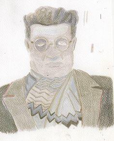 Antonio Gramsci. pastelli