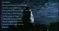 The Vampire Dares, Poetry, Night, Poems, Poetry Books, Poem