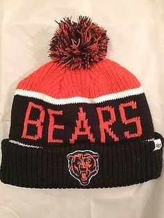 dbad763327e NFL Chicago Bears Adult Winter Knit Hat www.mancavesonline.com Nfl Bears