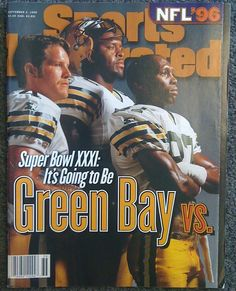 """The September 2, 1996 issue of """"Sports Illustrated Magazine"""" predicts a Super Bowl XXXI win for the Green Bay Packers"""