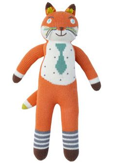 my favorite little BlaBla guy, Socks the Fox
