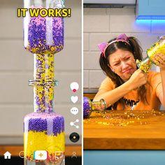 Cute Kids Crafts, Diy Crafts For Girls, Cool Paper Crafts, Fun Diy Crafts, Diy For Kids, 5 Min Crafts, 5 Minute Crafts Videos, Diy Fashion Videos, Diy Crafts Life Hacks