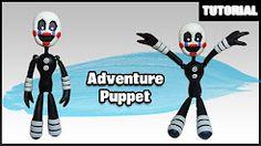 (3) como hacer muñecos con plastilina fnaf - YouTube