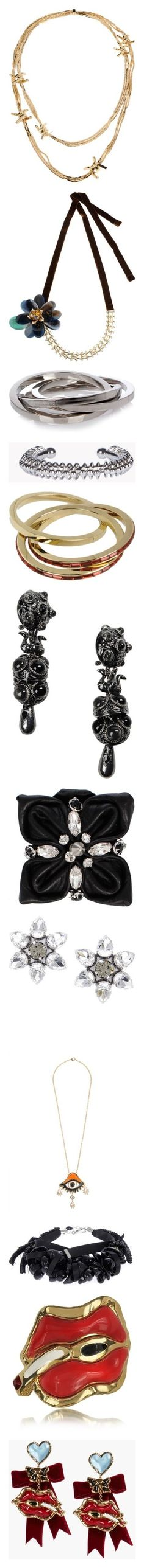 """Dsquared2"" by gigiglow ❤ liked on Polyvore featuring jewelry, necklaces, gold, dsquared2, velvet necklace, velvet jewelry, bracelets, silver, silver bangles and silver tone jewelry"