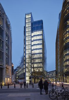 A new 15-storey office building makes a virtue out of a challenging triangular plot in London's Midtown  This striking scheme, designed by the...