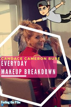 Candace Cameron Bure Makeup - Get her Everyday Makeup Beauty Breakdown. See the products she uses :)  #CandaceCameronBure #Makeup #Tutorial #Beauty