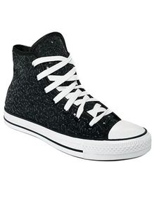 gorgeous sparkly high top converse-I want these!