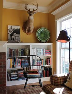 Living With Kids Home Tour Featuring Sunshine Burns  How To Include A  Mounted Animal