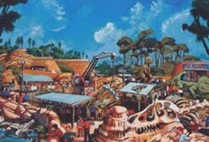 ': Disney's Animal Kingdom Original Artwork - Part Two