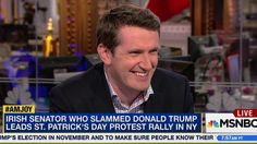 Viral, Irish Senator Standing Up to Trump | AM Joy | MSNBC