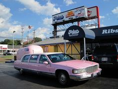 Marlowe's, Memphis, TN. Elvis was know to frequent Marlowe's, so the King must have loved their barbecue too!