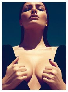 The Bombshell, Alyssa Miller is red-hot for the June cover shoot of GQ Turkey 2012.