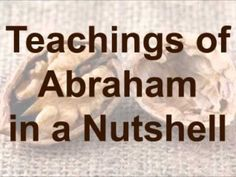 ▶ Abraham-Hicks: Teachings of Abraham in a Nutshell - YouTube