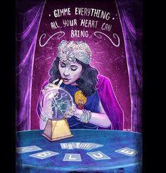 Marina and the Diamonds   Blue Fanart