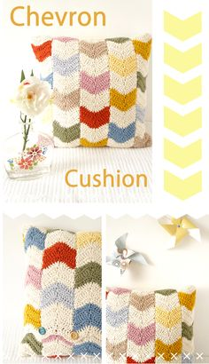 Little Doolally: Chevron Cushion