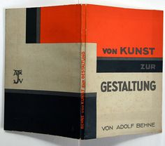 "oskar Fischer/1925/ constructivist jacket// jan tschichold listed this book in the bibliography of his seminal ""neue typographie"" and marked it with a fat dot, meaning ""especially recommended""."