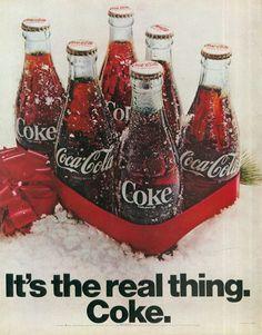 Drinks soda often, but not everyday. Pepsi Ad, Coca Cola Poster, Coca Cola Ad, Always Coca Cola, Coca Cola Bottles, Poster Ads, Jack Daniels, Vintage Coke, Vintage Posters
