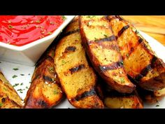 Grilled Steak Fries - How To Make Steak Fries - Steakhouse Recipe - YouTube