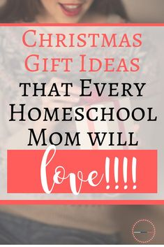 Have a homeschool mom to buy for? Here is a list of gifts for homeschool moms that every homeschool mom would love! Kids Christmas Ornaments, Holiday Crafts For Kids, Christmas Gifts For Mom, Christmas Activities, Secular Homeschool Curriculum, Curriculum Planning, How To Start Homeschooling, Thing 1, Mom Birthday Gift