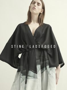 Stine Ladefoged AW16 Image Campaign, Scandinavian design, fashion, knit