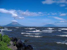 Lago Nicaragua - 10º Lago de agua dulce más grande del mundo. Contiene tiburones, tarpones y peces sierra.