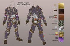 Plate Armor Design Concept | Alienware Arena