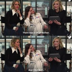 Yes Cate. Ocean's Eight, Lesbian Humor, Oceans 8, Madam President, Gay Aesthetic, Anne Hathaway, Cate Blanchett, Godly Woman, Hot Blondes