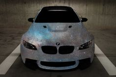 Is this BMW encrusted in Swarovski Crystals? It looks amazing!