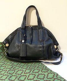 Oryany Handbag large leather tote bag Shoulder Strap Deep Forest Green Desirable