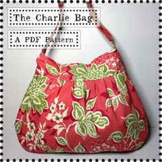 Charlie bag sewing pattern