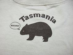 ウォンバットTシャツ http://www.tshirts-sanka.com/SHOP/T-036.html