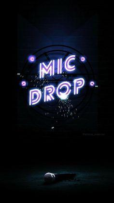 42 Ideas bts wallpaper mic drop lyrics for 2019 Bts Wallpaper Lyrics, Army Wallpaper, Neon Wallpaper, Wallpaper Quotes, Wallpaper Backgrounds, Iphone Wallpaper, Bts Lockscreen, Bts Boys, Bts Bangtan Boy